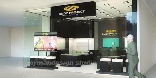 ออกแบบร้านแว่นตา rudy project