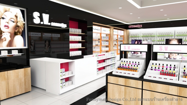 cosmetic shop design_01