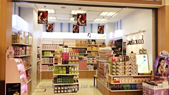 cosmetics shop decoration_05