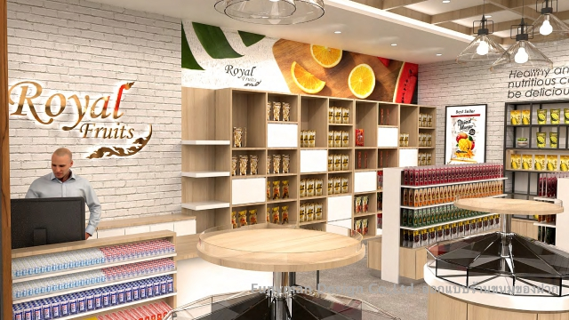 ออกแบบร้าน Souvenir shop