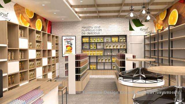 ออกแบบร้านสินค้าของฝาก