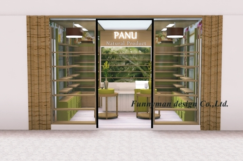 spa product shop design
