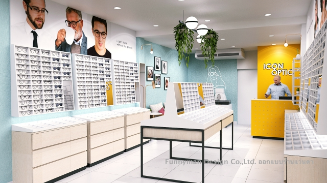 eye optic shop dsign