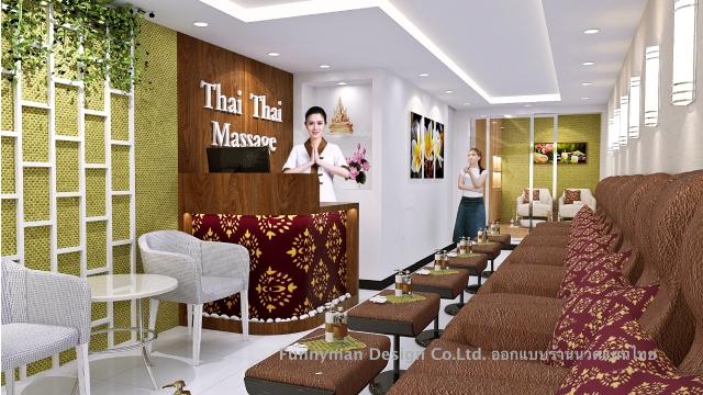 thai massage shop design