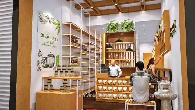 ออกแบบร้านอาหารเพื่อสุขภาพ