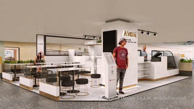 ออกแบบร้านเบเกอรี่ในเซนทรัล ลาดพร้าว