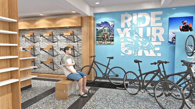 ออกแบบร้านขายจักรยาน