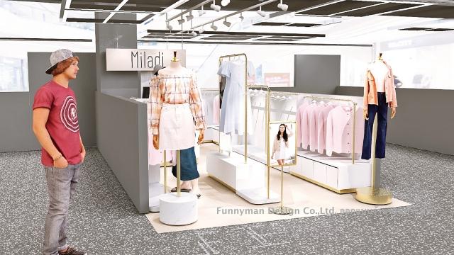 ออกแบบร้านเสื้อผ้าขนาดเล็ก