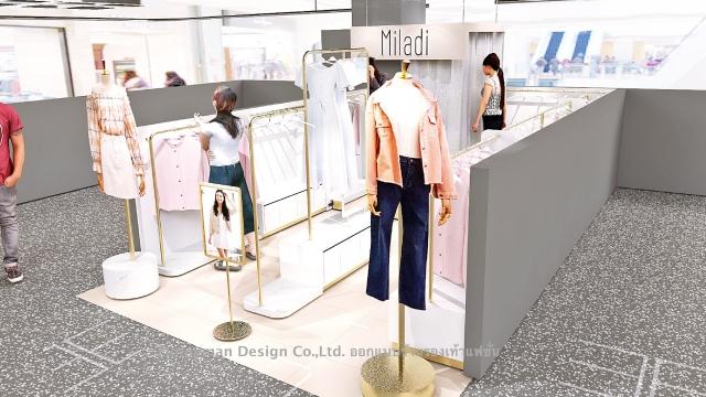 ออกแบบร้านเสื้อผ้าในเซ็นทรัล