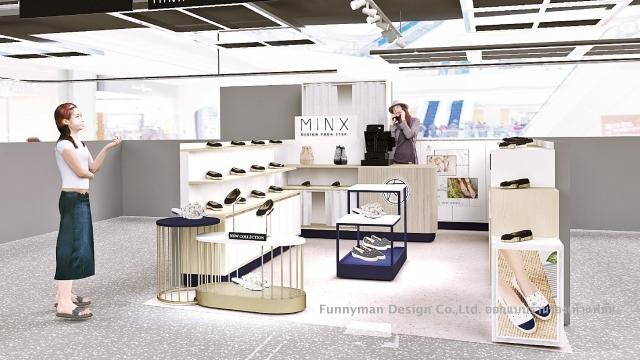 shoes shop design