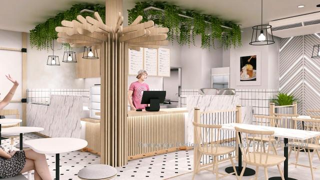 cafe shop design