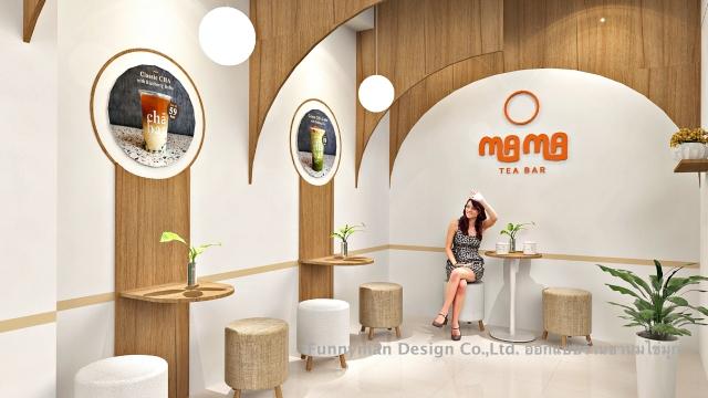 bubble tea shop design