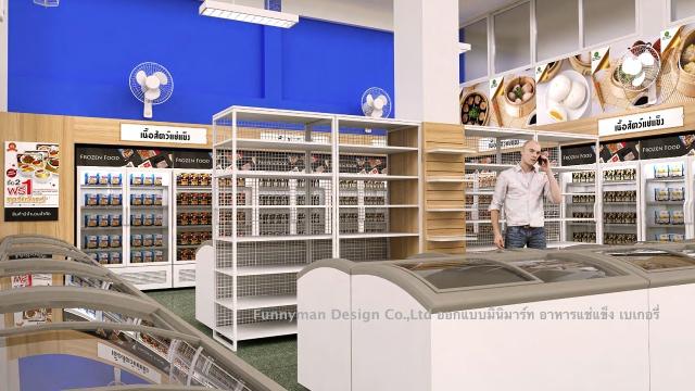 convenience food shop design