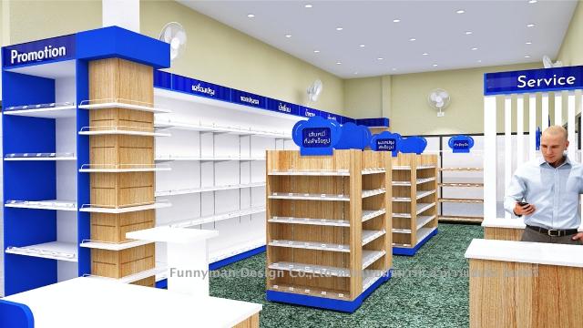 minimart store design