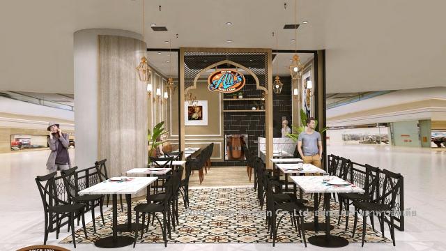 ออกแบบร้านอาหารในเซ็นทรัล