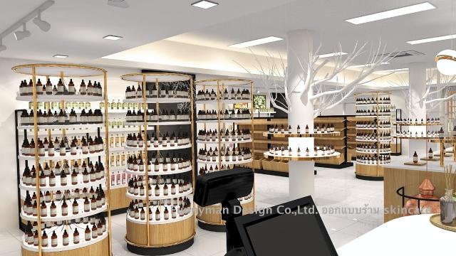 skincare shop design