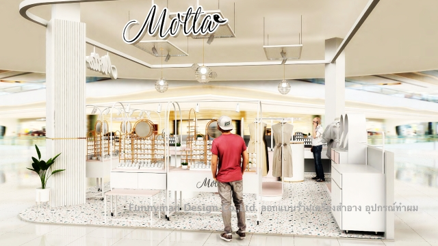 accessories shop design