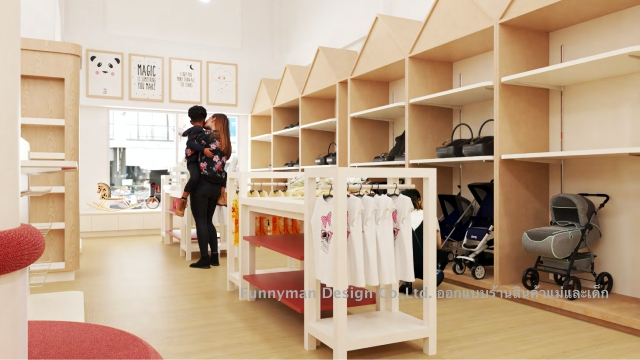 baby store design