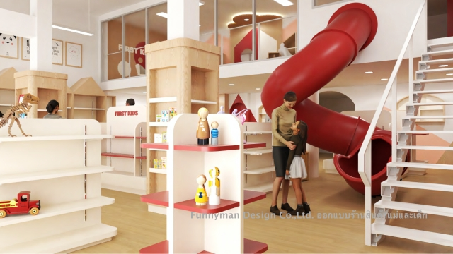 รับออกแบบร้านสินค้าเด็ก