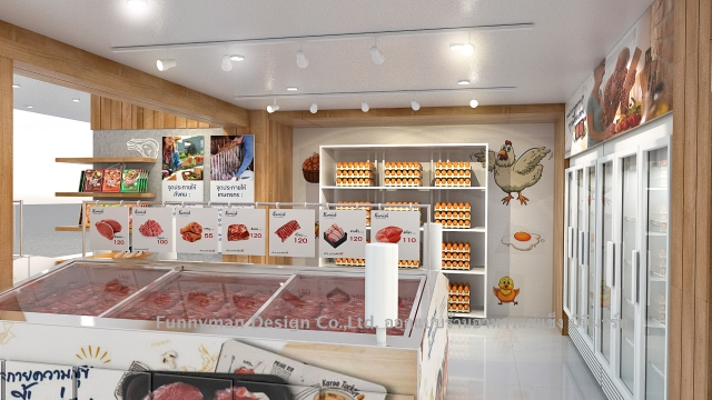 minimart shop design