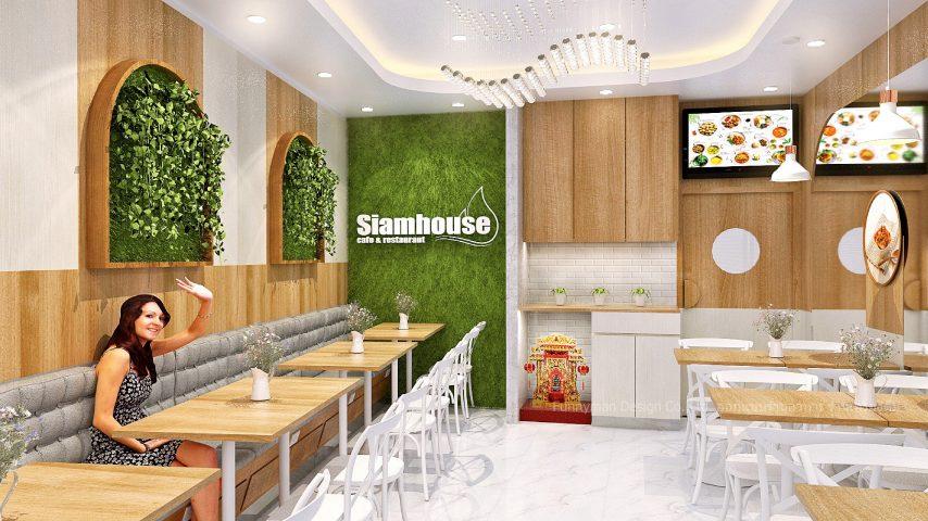 ออกแบบร้านอาหาร อาคารพาณิชย์