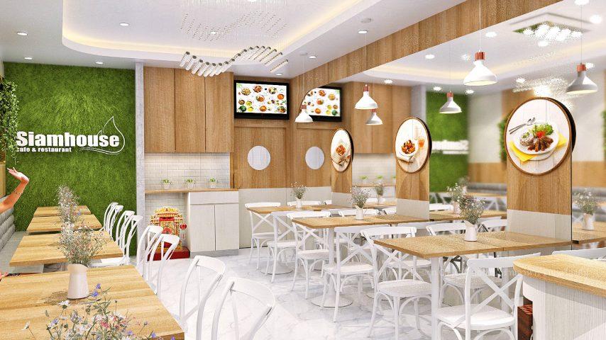 ออกแบบร้านอาหารขนาดเล็ก