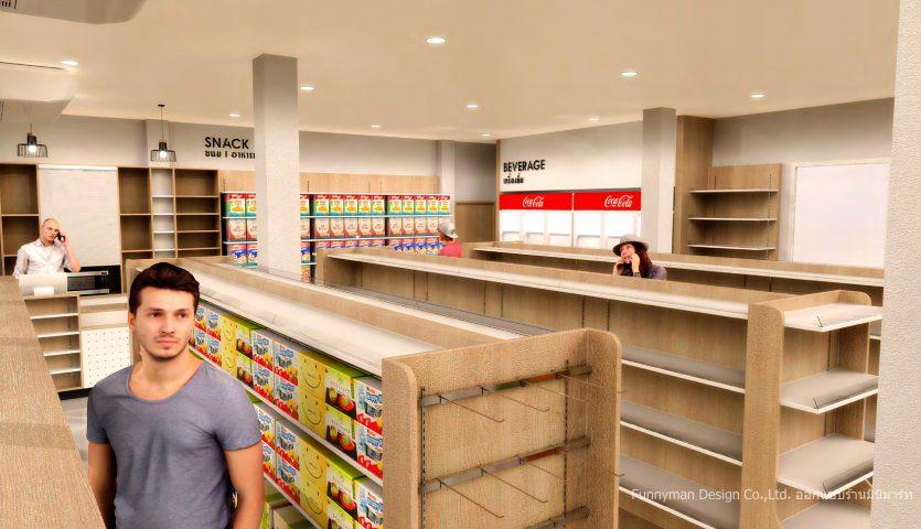 minimart shop design