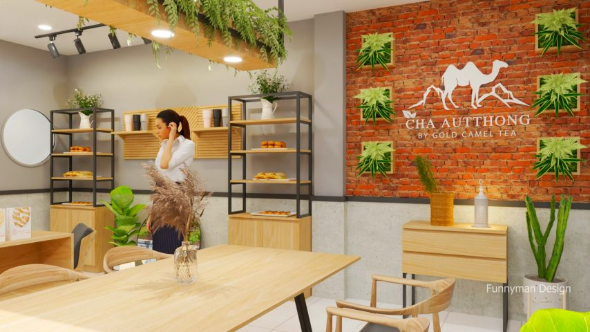 tea shop design