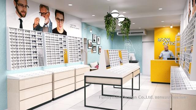eye optic shop dsign