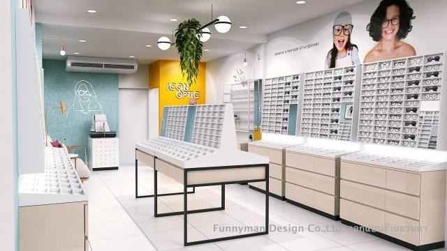 ออกแบบร้านขายแว่นตา