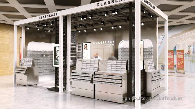 รับออกแบบร้านขายแว่นตา