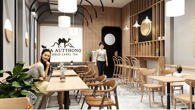 ออกแบบร้าน coffee shop