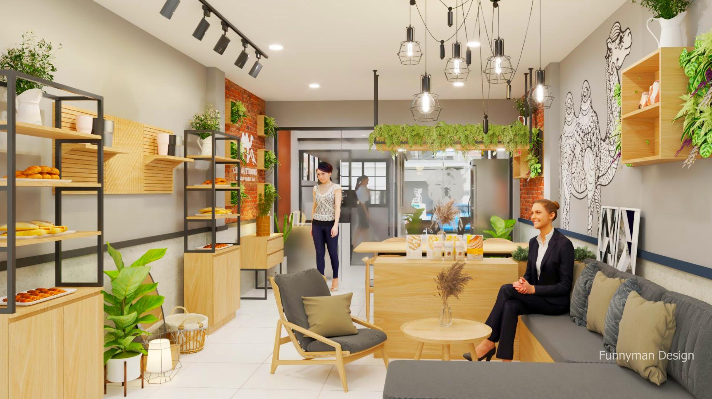 ออกแบบร้านกาแฟ คอฟฟี่ช็อป